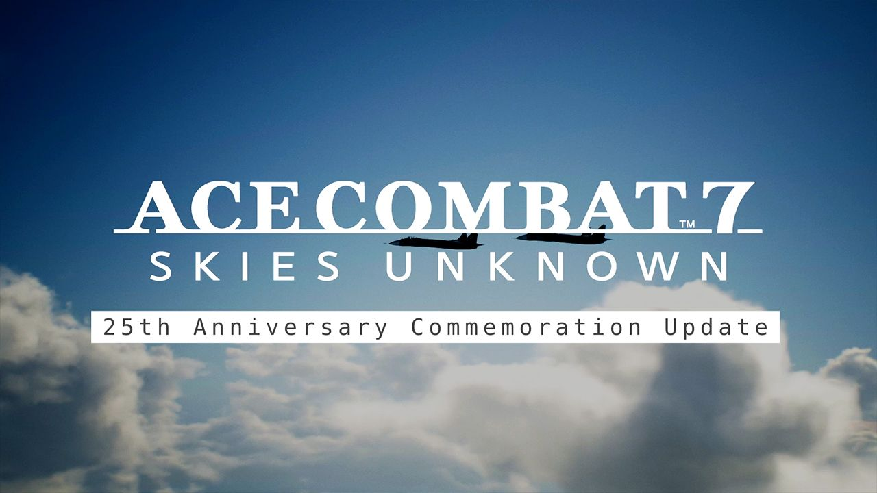 This year marks the 25th anniversary of the Ace Combat series!