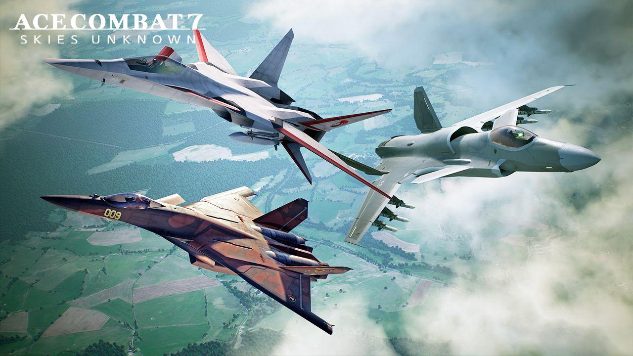 ACE COMBAT 7 celebra il 25° anniversario della serie con un nuovo DLC!