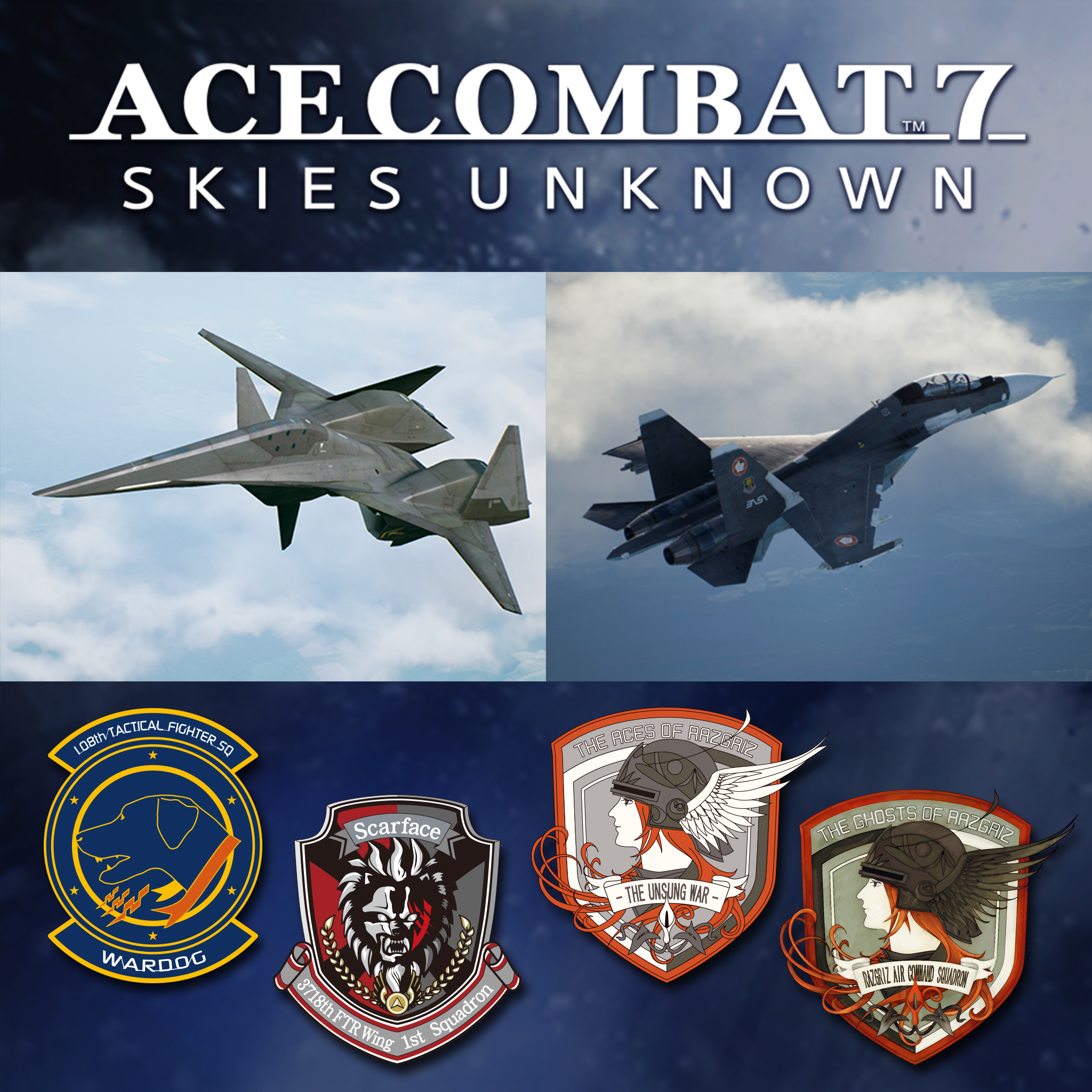 ACE COMBAT 7: SKIES UNKNOWN : Reveal of the 3 first DLCs of