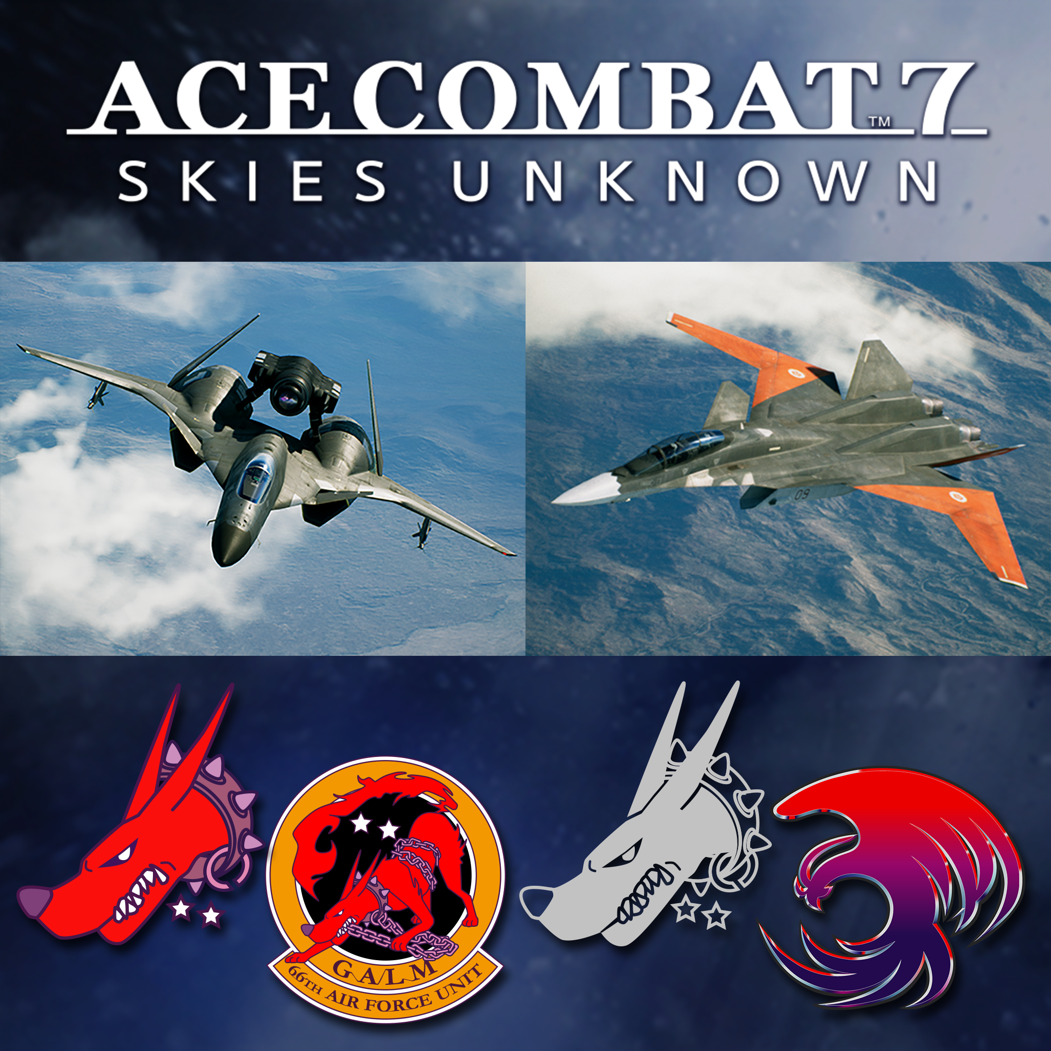 ACE COMBAT 7: SKIES UNKNOWN : Reveal of the 3 first DLCs of the
