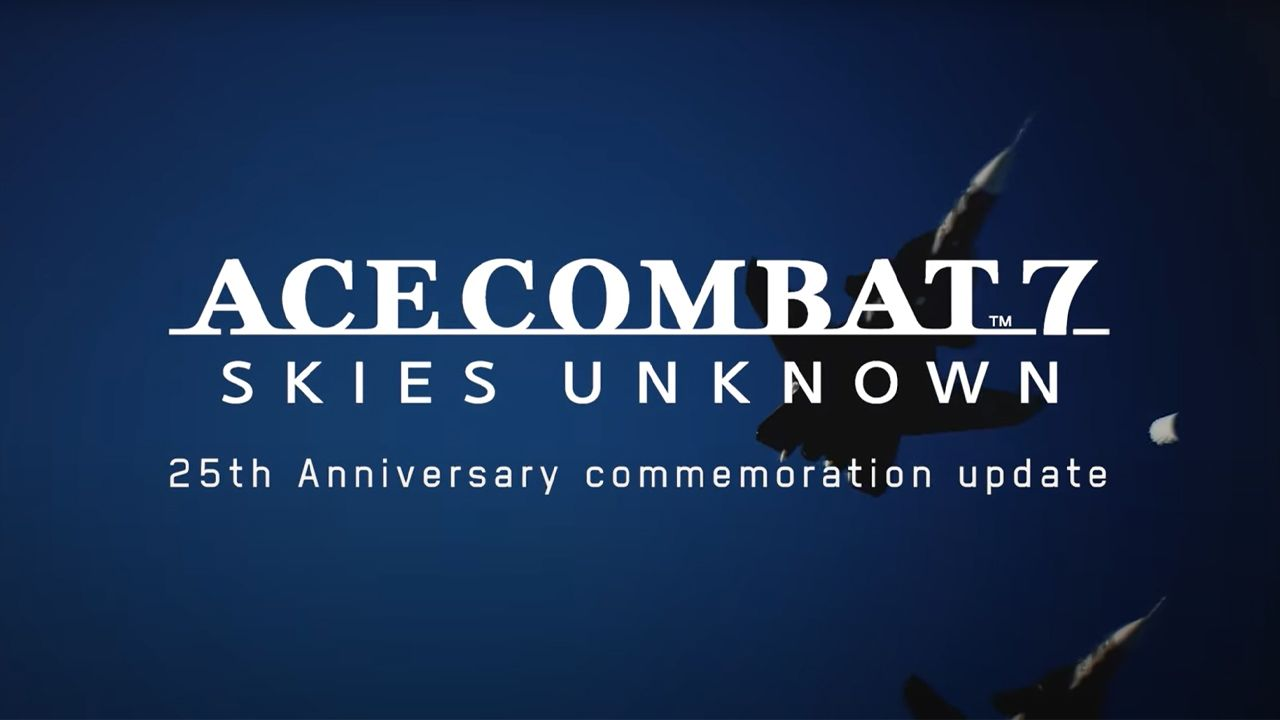 ACE COMBAT 7: Skies Unknown - 25th Anniversary Free Update 2