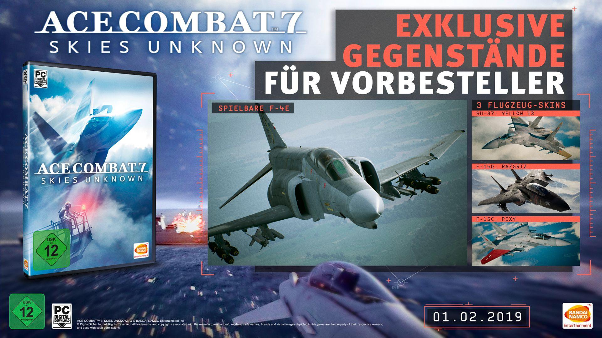 Ace Combat 7 - Preorder Bonus PC