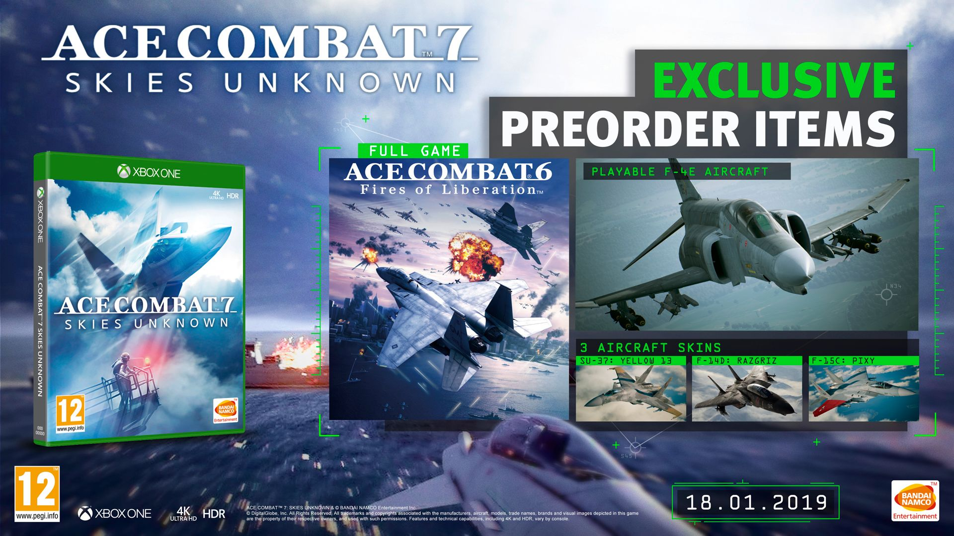 Ace Combat 7 - Preorder Mockup X1