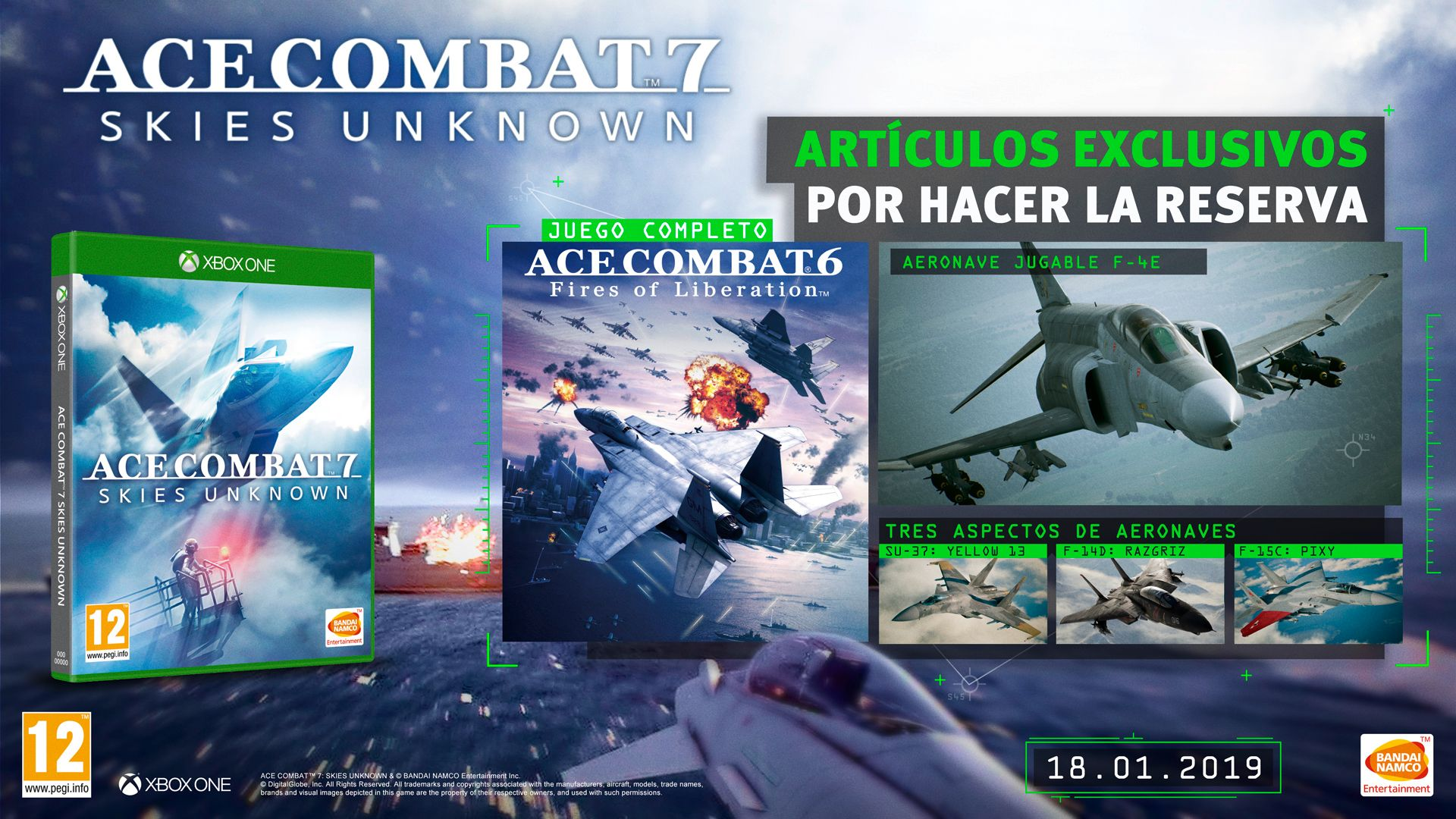 Ace Combat 7 - Preorder Offer X1