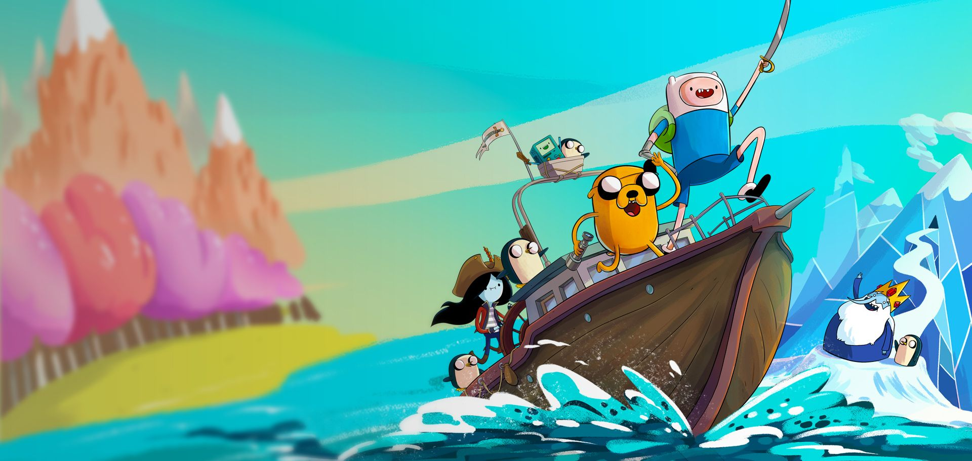 Adventure Picture: ADVENTURE TIME: PIRATES OF THE ENCHIRIDION