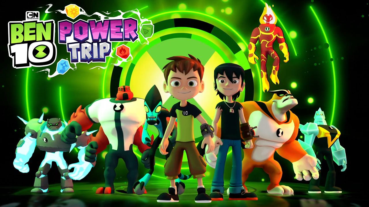 Time to hero up in BEN 10: POWER TRIP launching today on Playstation® 4, Nintendo Switch™, Xbox One, PC digital