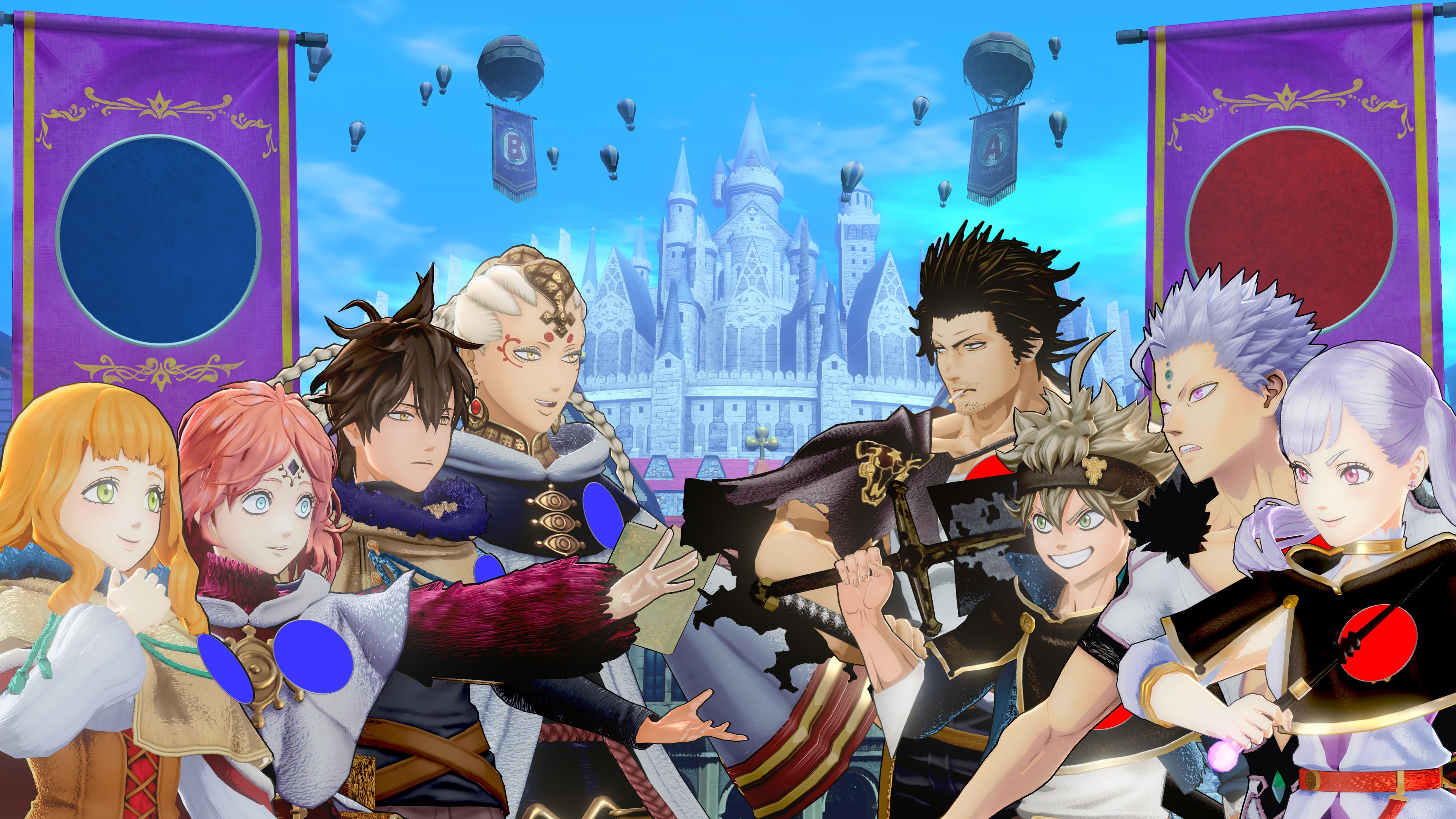New features revealed in free update for BLACK CLOVER QUARTET KNIGHTS