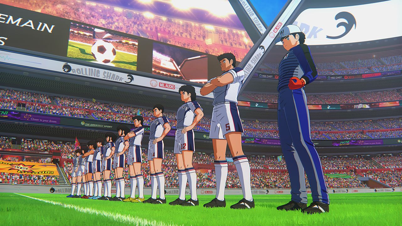Check out all the national teams that await you in Captain Tsubasa: Rise of New Champions