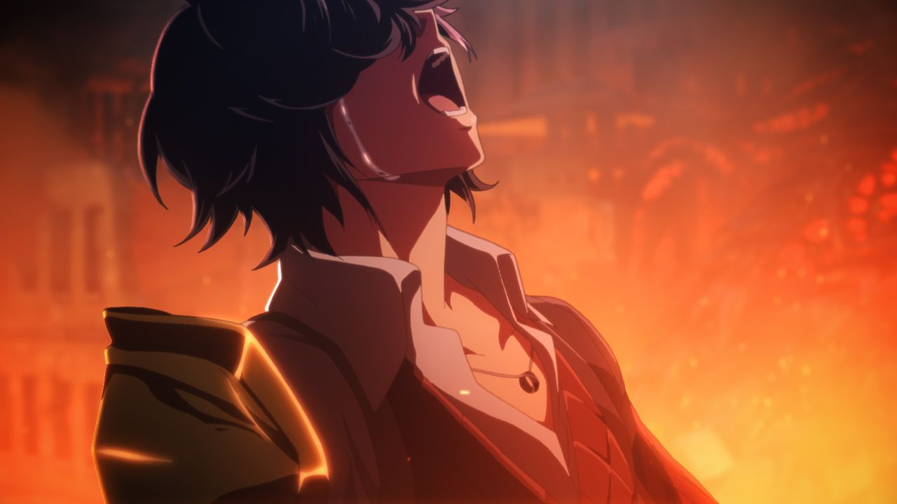Code Vein - Louis shouting