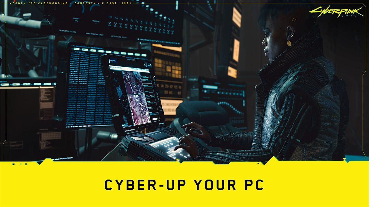 Design the Cyberpunk 2077 PC Case of Your Dreams!