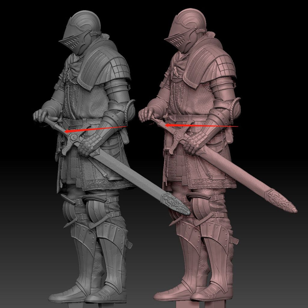 Dark Souls Trilogy Statue