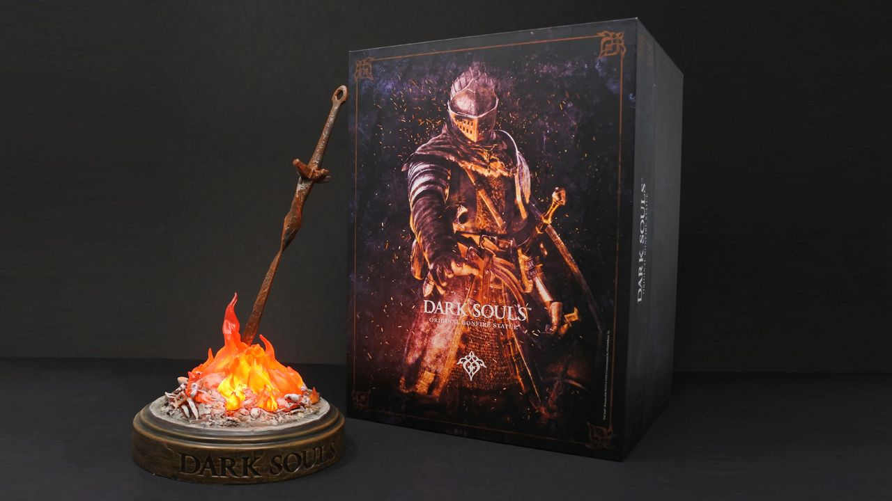 DARK SOULS: Original Bonfire Statue