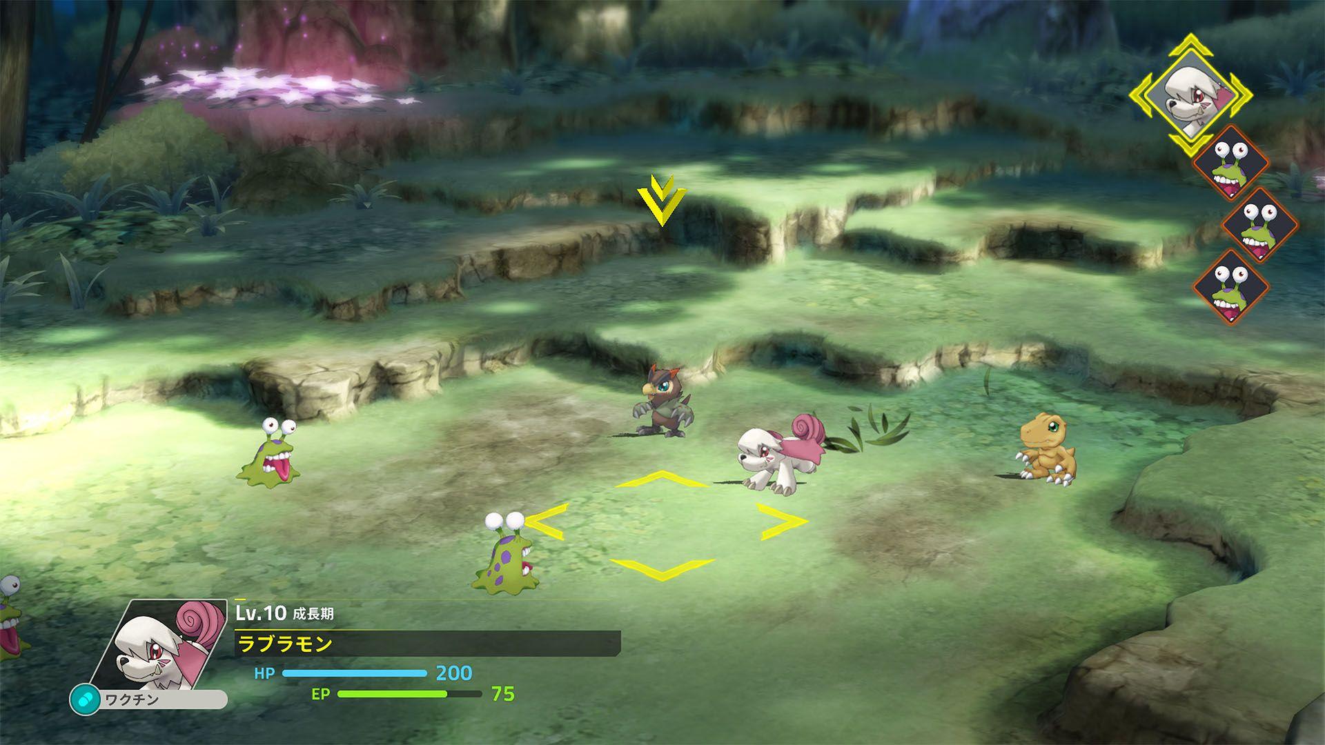 combats digimon survive futur jeu vidéo de la licence