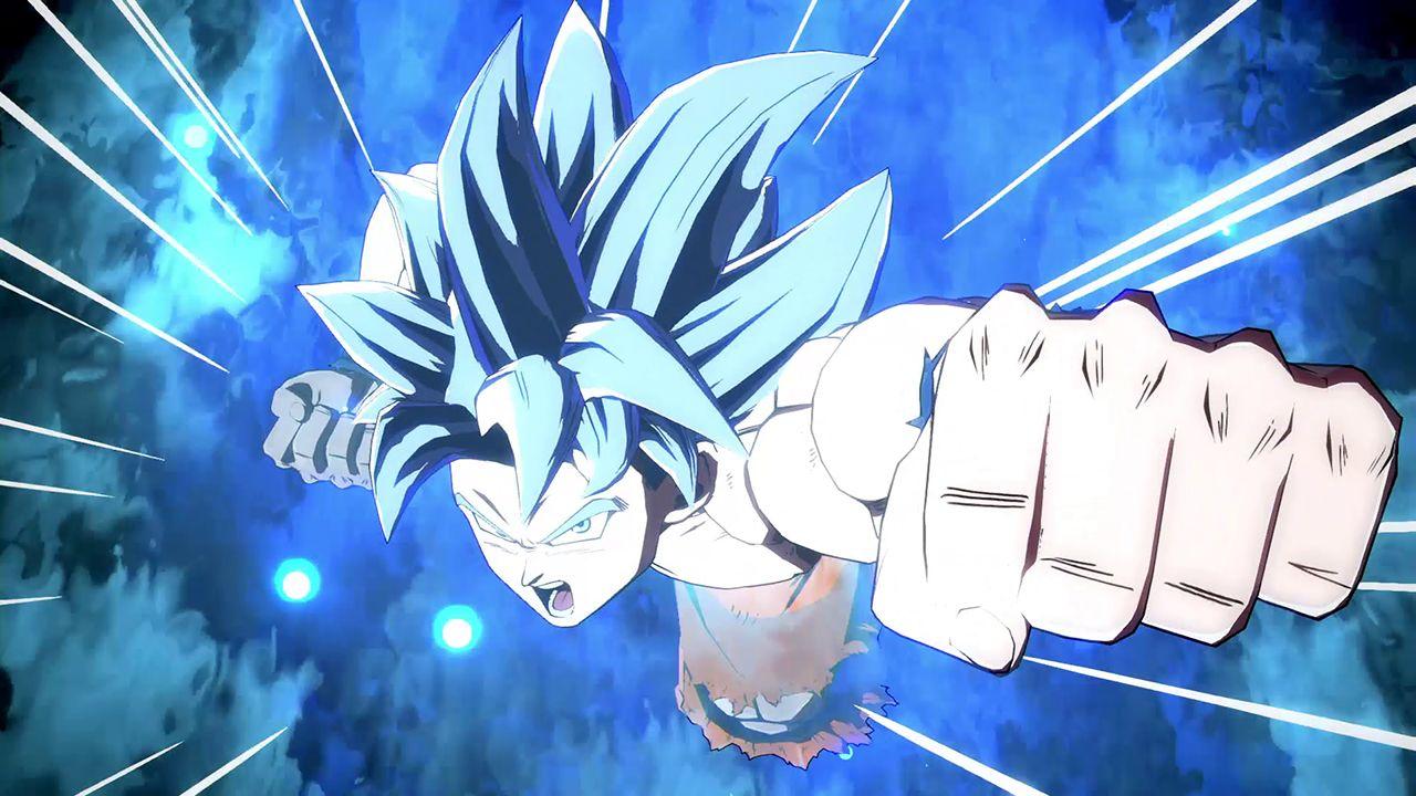 Goku (Ultra Instinct) showcased in a DRAGON BALL FighterZ livestream!