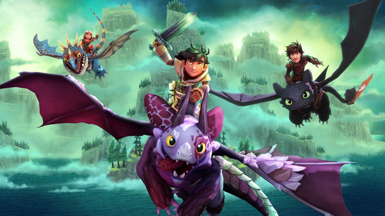 Outright Games e Universal Games annunciano il videogioco Dreamworks Dragons: L'alba dei Nuovi Cavalieri