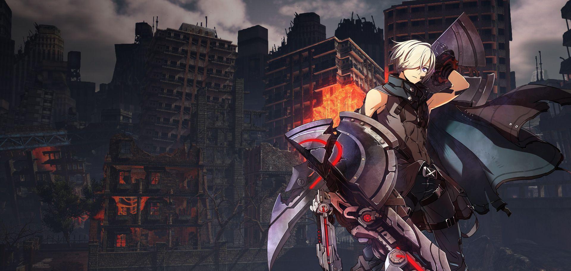 God Eater Bandai Namco Entertainment Europe Ps4 Birthdays The Beginning Reg 2