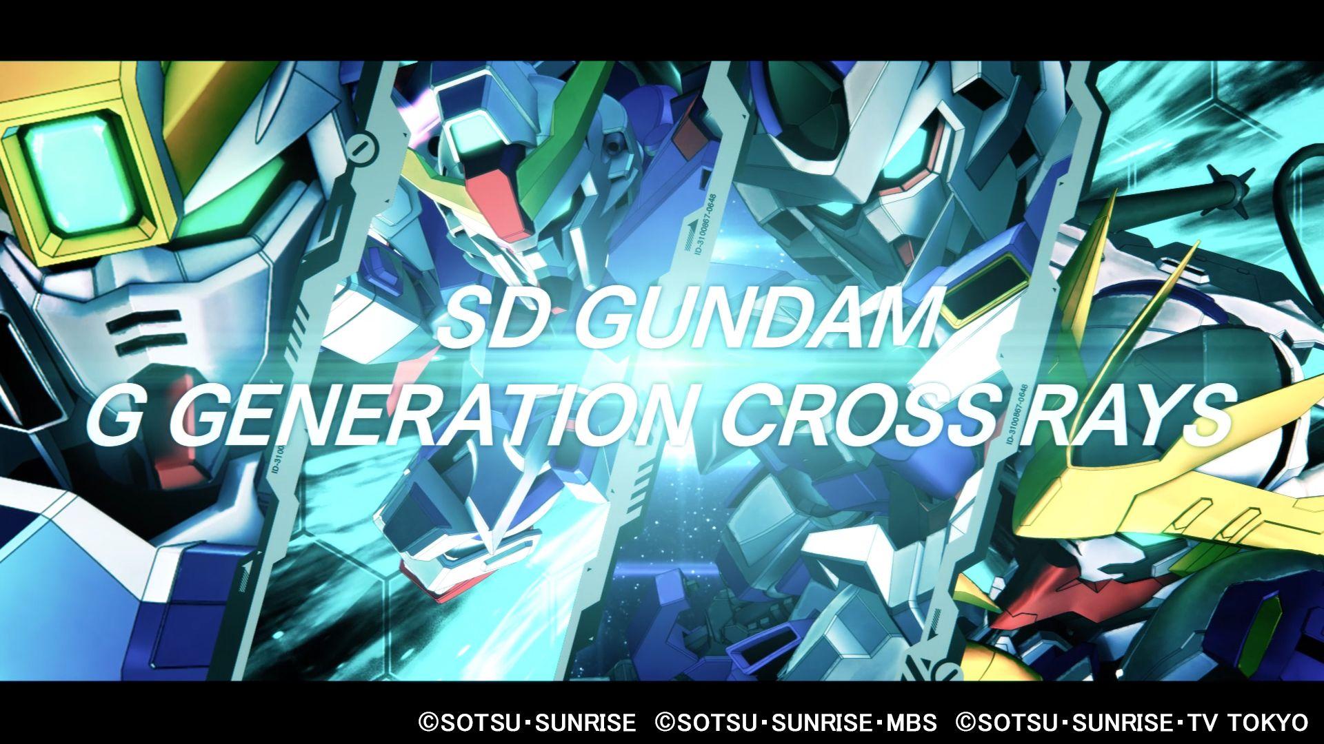 Gundam G Generation Cross Rays