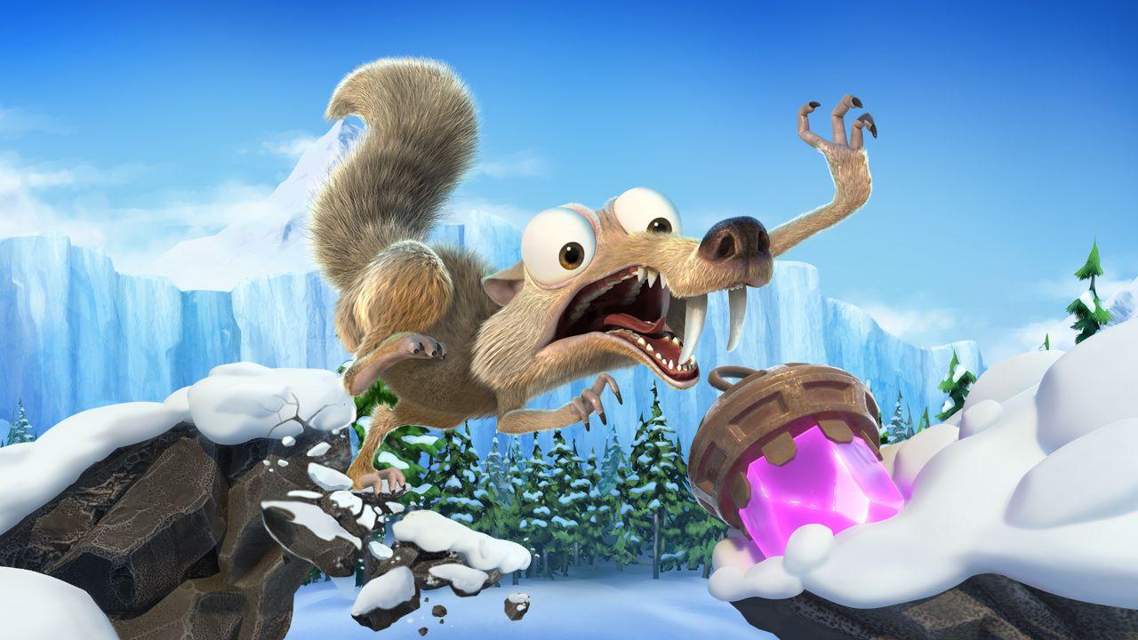 Картинки по запросу Ice Age: Scrat's Nutty Adventure
