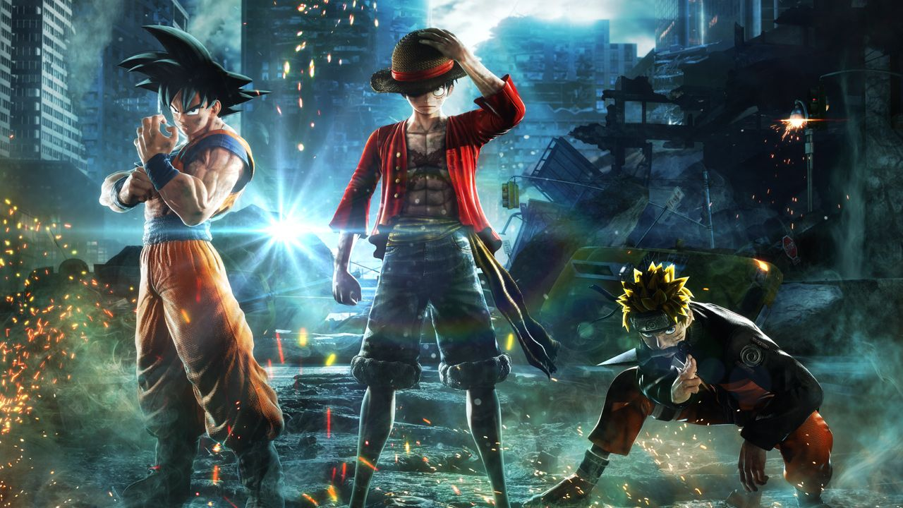 jump force announced for xbox one playstation 4 and steam bandai