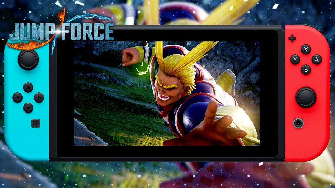 JUMP FORCE announced for Nintendo Switch and Shoto Todoroki to be released as the next DLC!