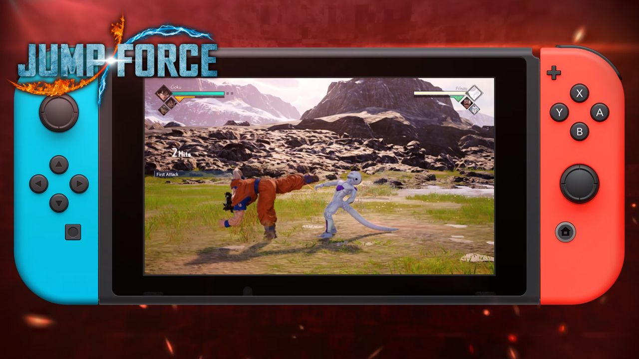 JUMP FORCE to come to Nintendo Switch on August 28th!