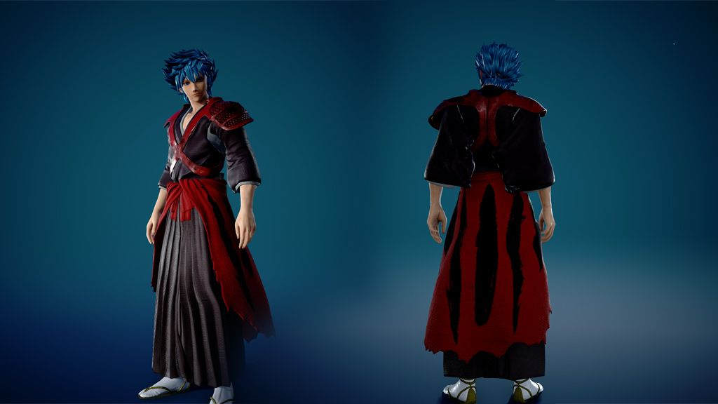 Red Shihakusho Costume