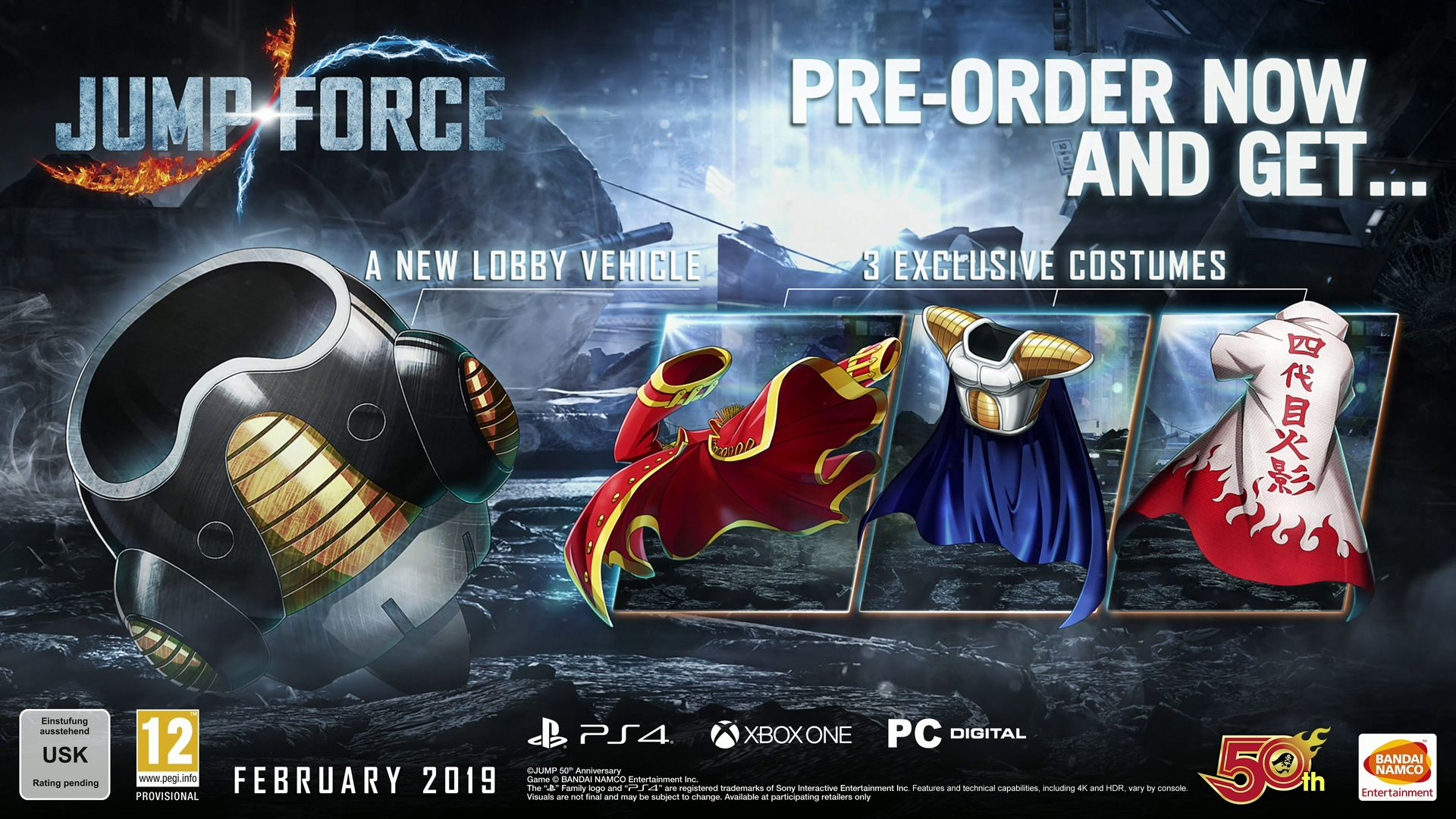 Jump Force - Preorder Offer