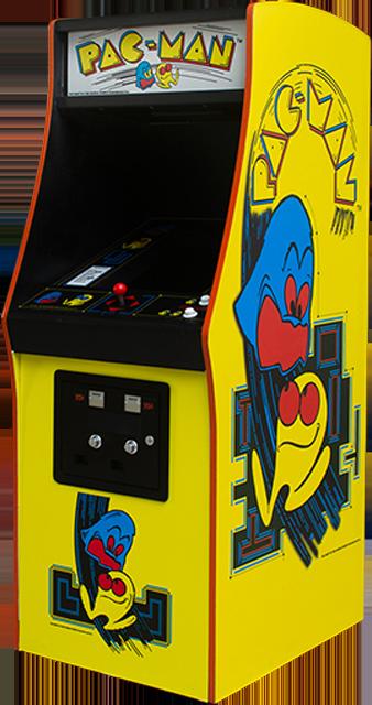 PAC-MAN mini arcade cabinet