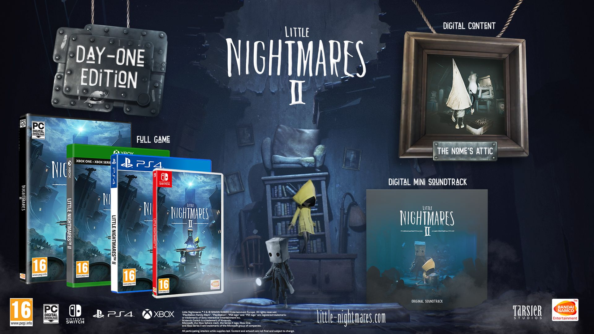 Day 1 Edition Little Nightmares 2