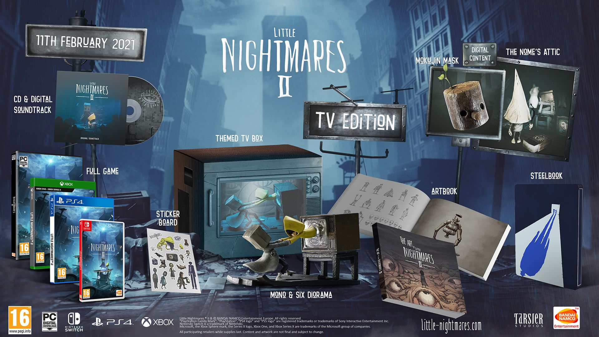 TV Edition Little Nightmares 2