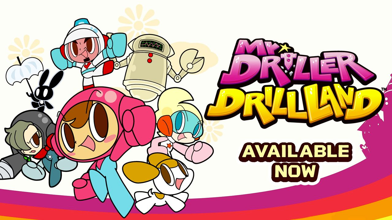 Mr DRILLER DrillLand désormais disponible sur Nintendo Switch et Steam