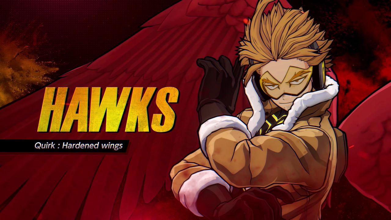 Hawks to join the MY HERO ONE'S JUSTICE 2's roster today! And first Patch Notes!