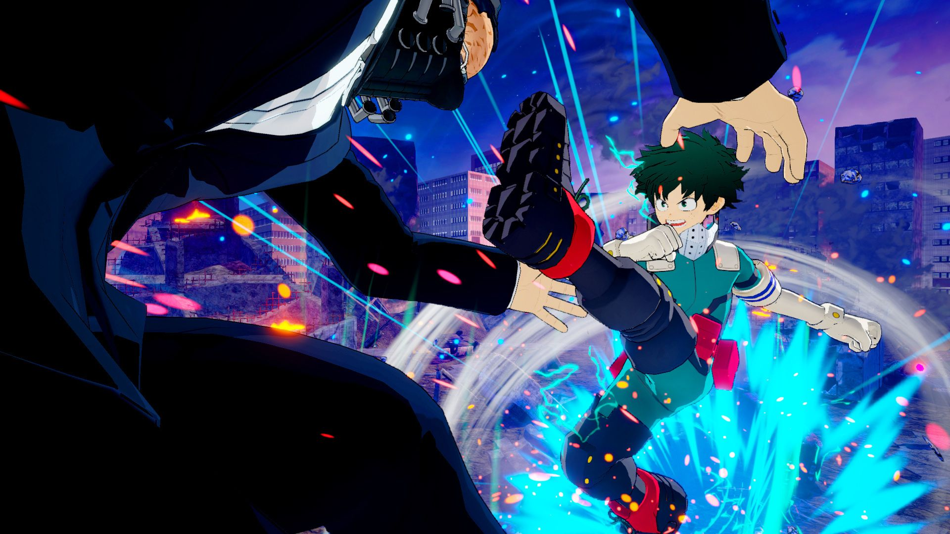 my hero one's justice - Deku Shoot Style