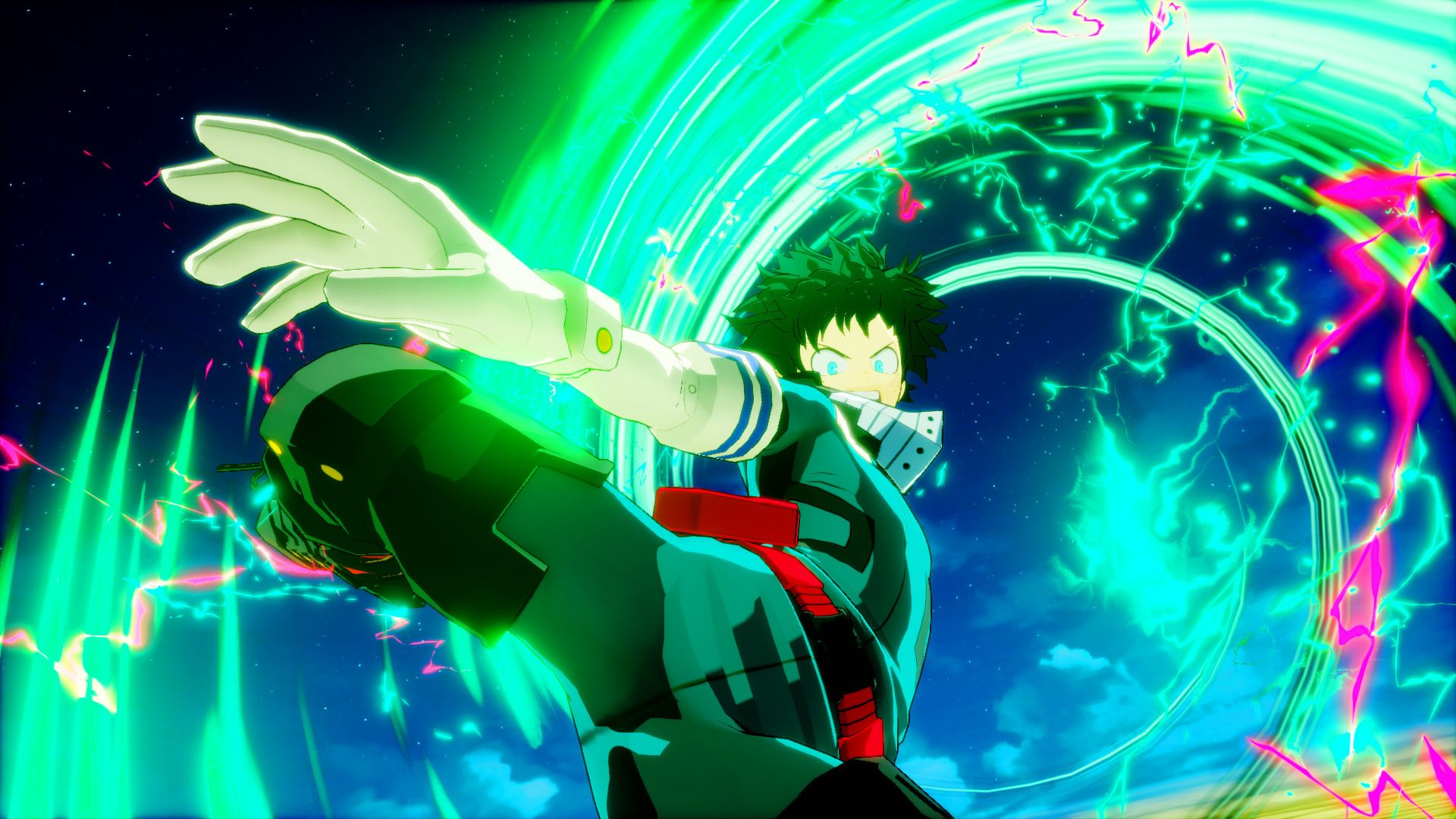 Kick villains into touch with Deku's new fighting style
