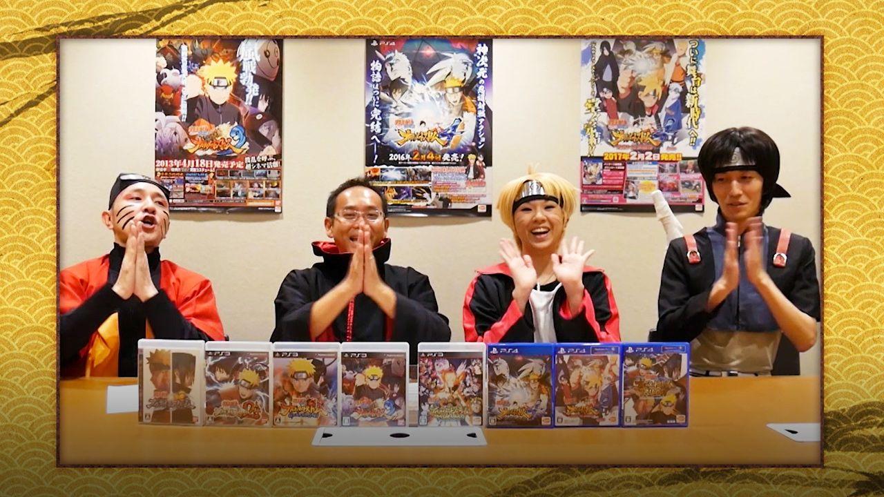 Naruto : Ultimate Ninja : Production staff roundtable