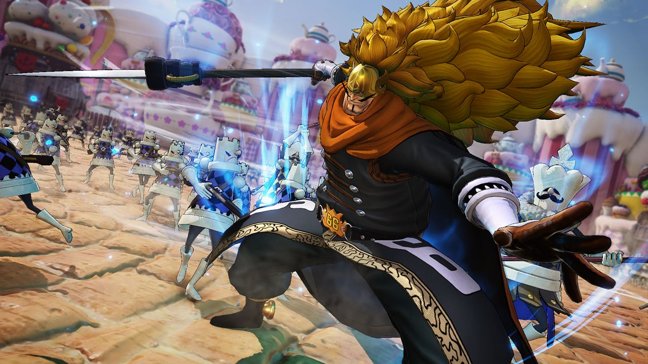 Vinsmoke Judge to complete the first Character Pack of ONE PIECE PIRATE WARRIORS 4
