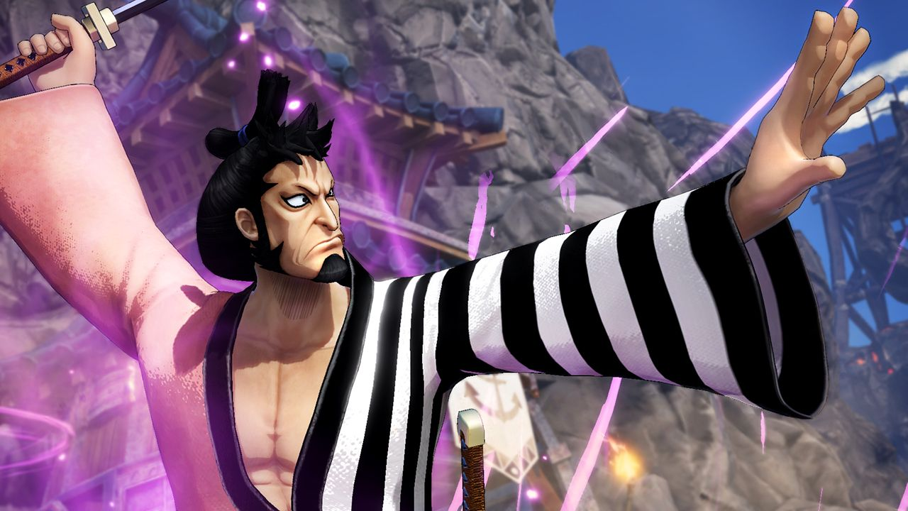 Kin'emon arriva in ONE PIECE: PIRATE WARRIORS 4!