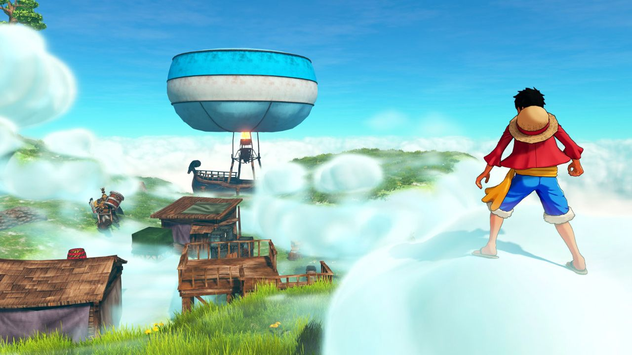 One Piece World Seeker - Cloud