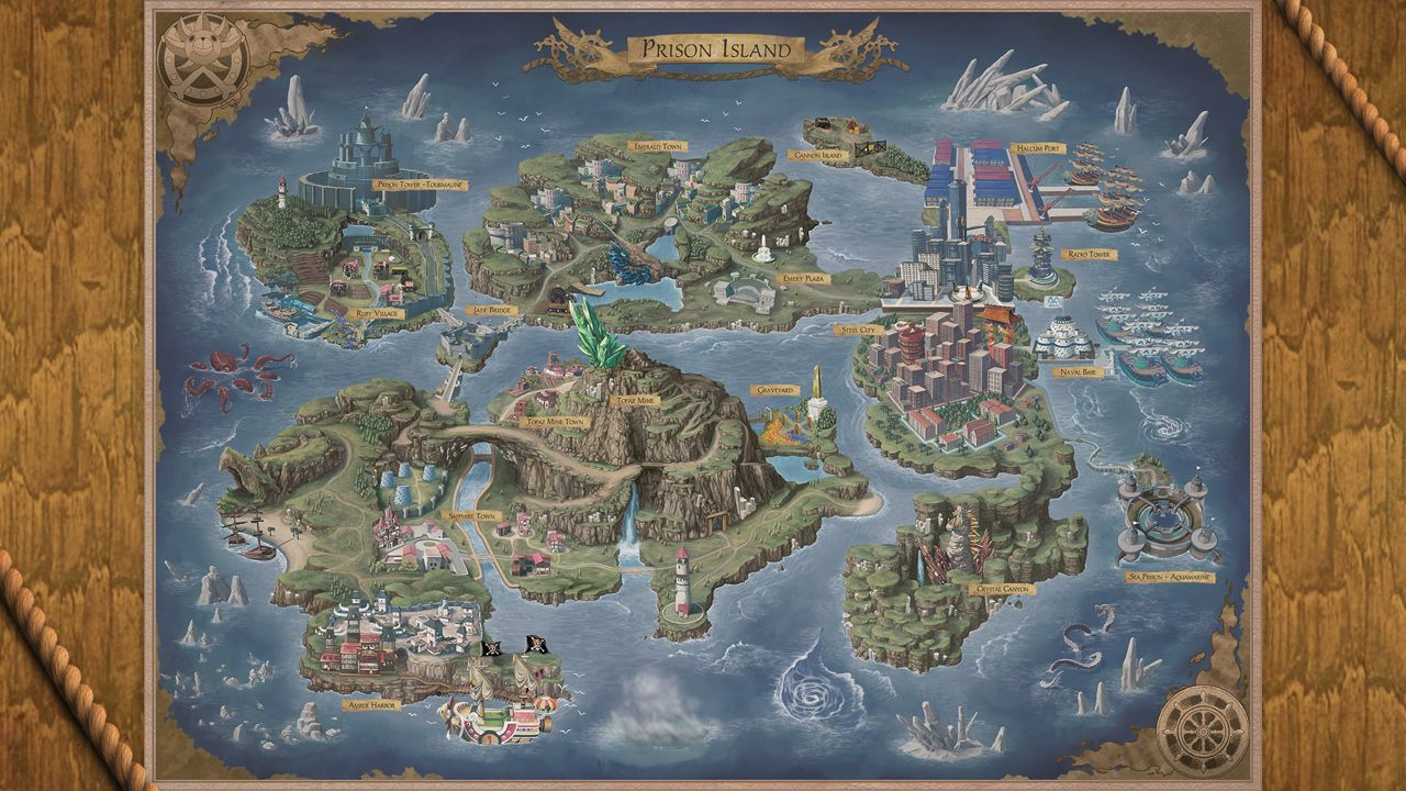 28 One Piece World Map - Maps Database Source