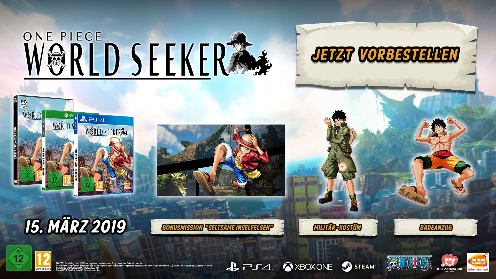 One Piece World Seeker - Preorder Offer