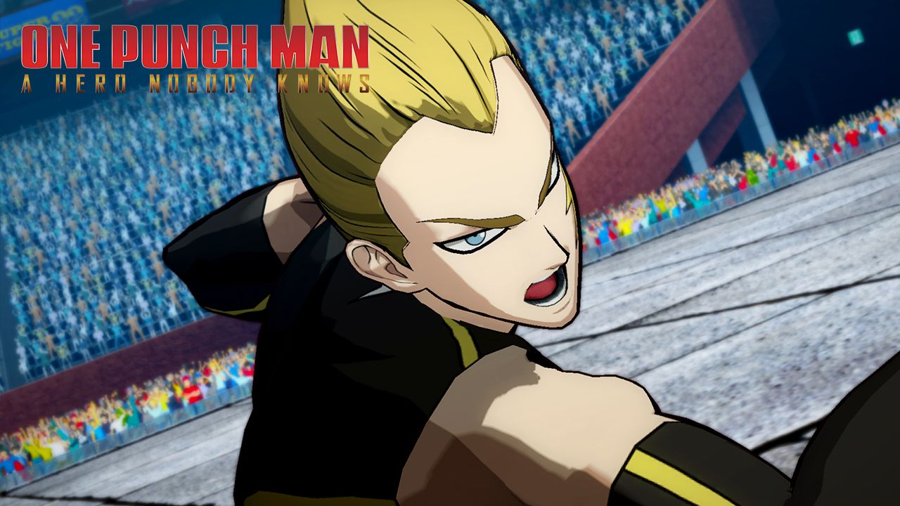 Lightning Max to join the ONE PUNCH MAN: A HERO NOBODY KNOWS' roster tomorrow!
