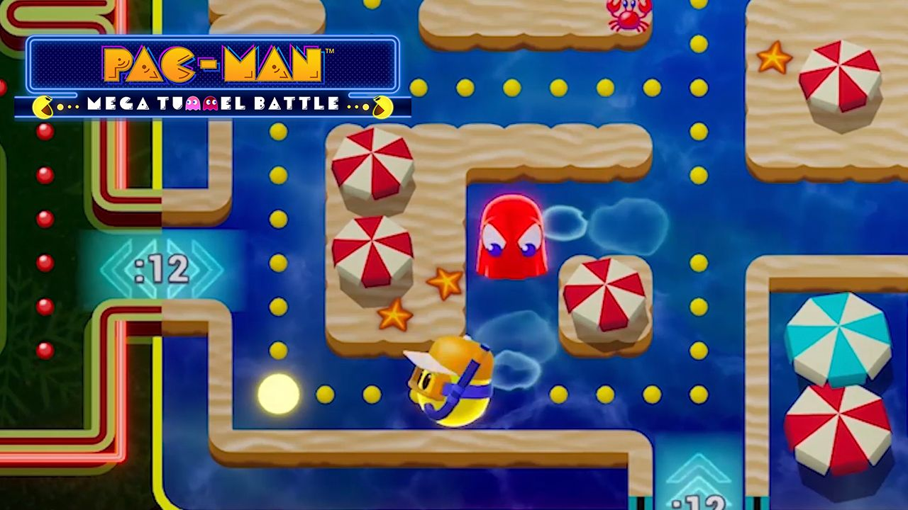 PAC-MAN divora tutto anche su Stadia con PAC-MAN™ MEGA TUNNEL BATTLE