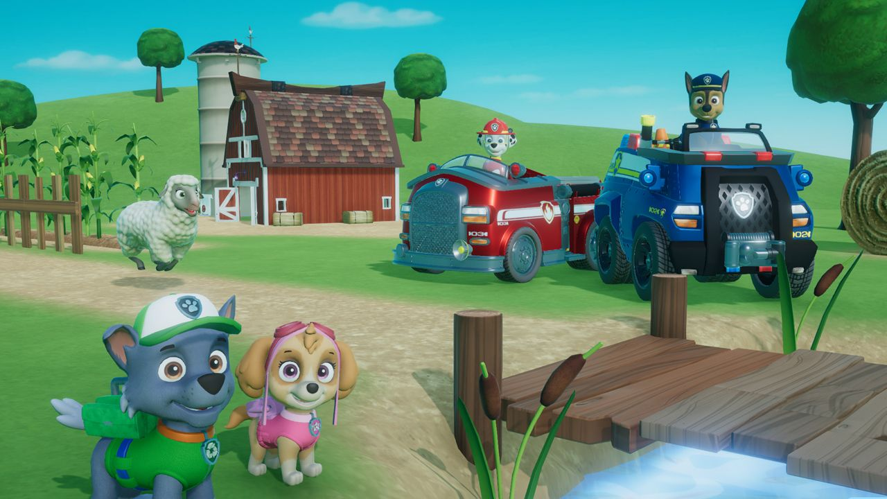 Paw Patrol On A Roll Announced For Consoles And Pc