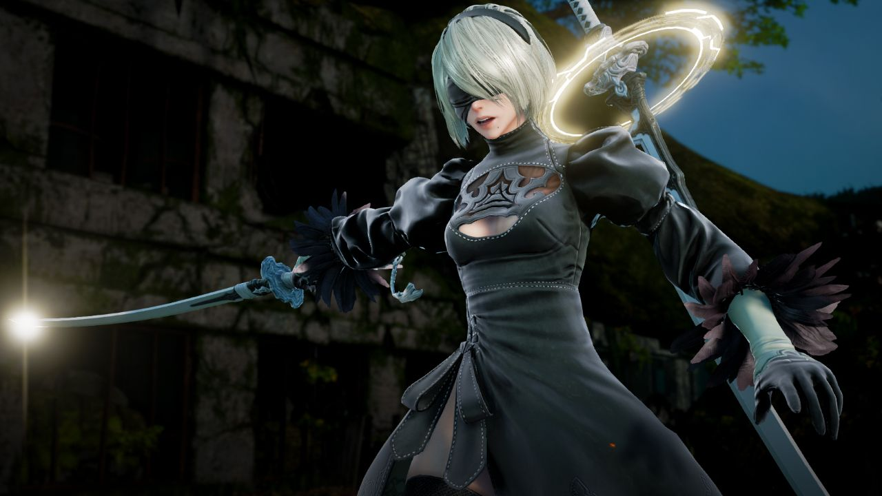 Premise Indicator Words: 2B From NieR: Automata Brings Her Blades To SOULCALIBUR VI