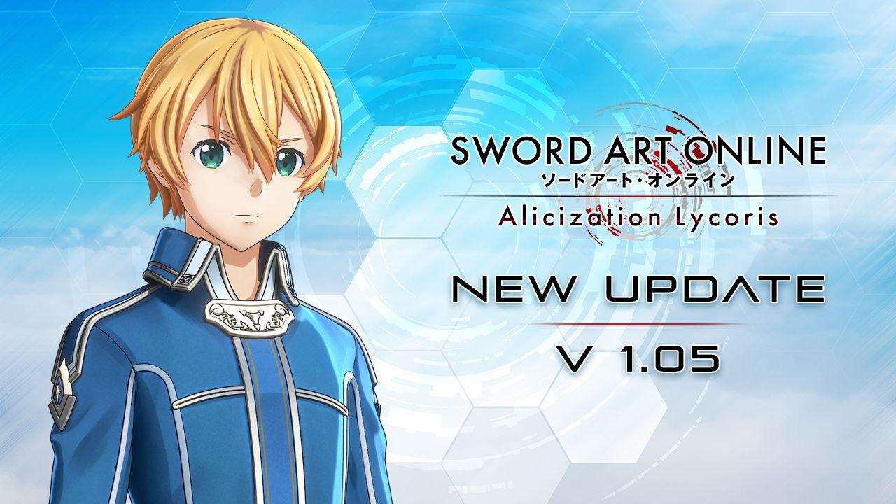 SWORD ART ONLINE Alicization Lycoris Notes de patch Ver1.05