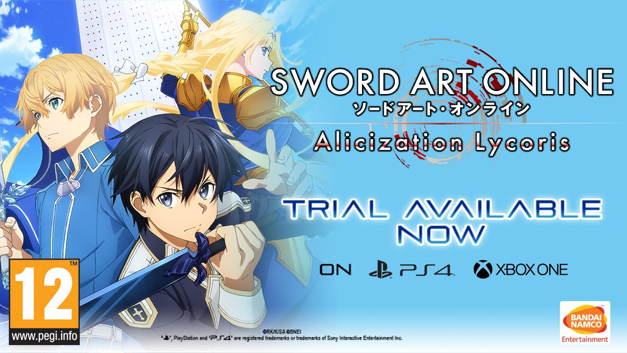 Sword Art Online Alicization Lycoris : aperçu de la version d'essai
