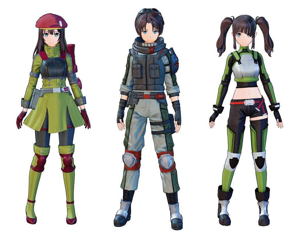 Sword Art Online Fatal Bullet - April Update Costumes