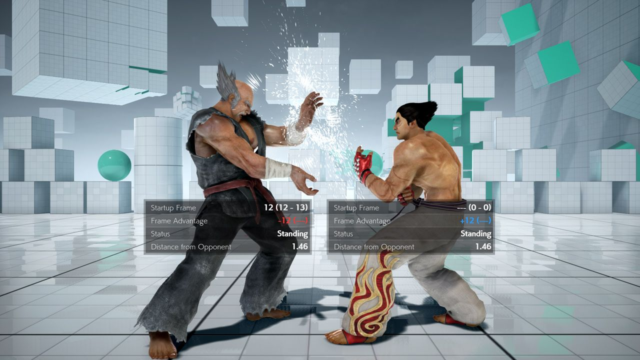 Tekken 7 - Detailed Display
