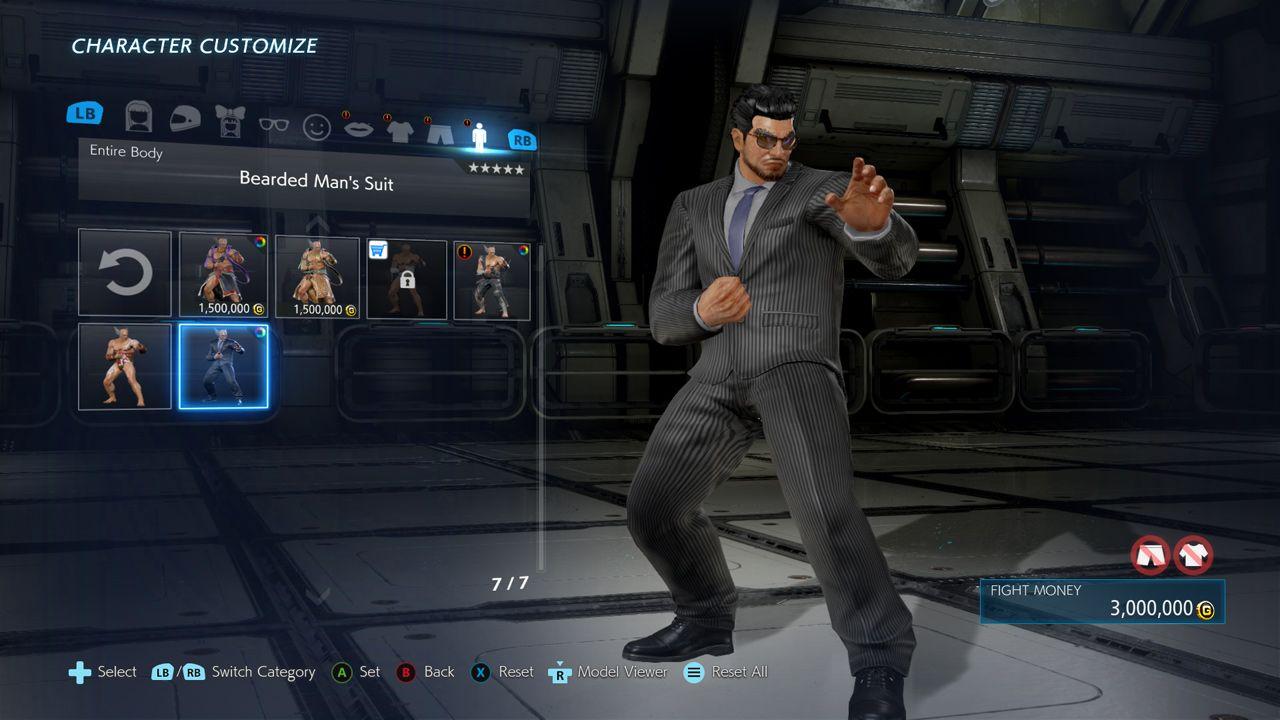 Tekken 7 - Beard