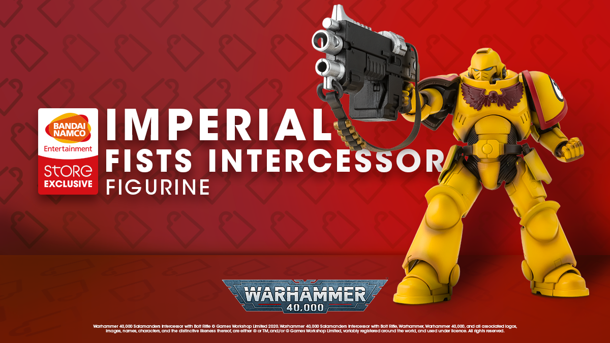 warhammer imperial fist intercessor